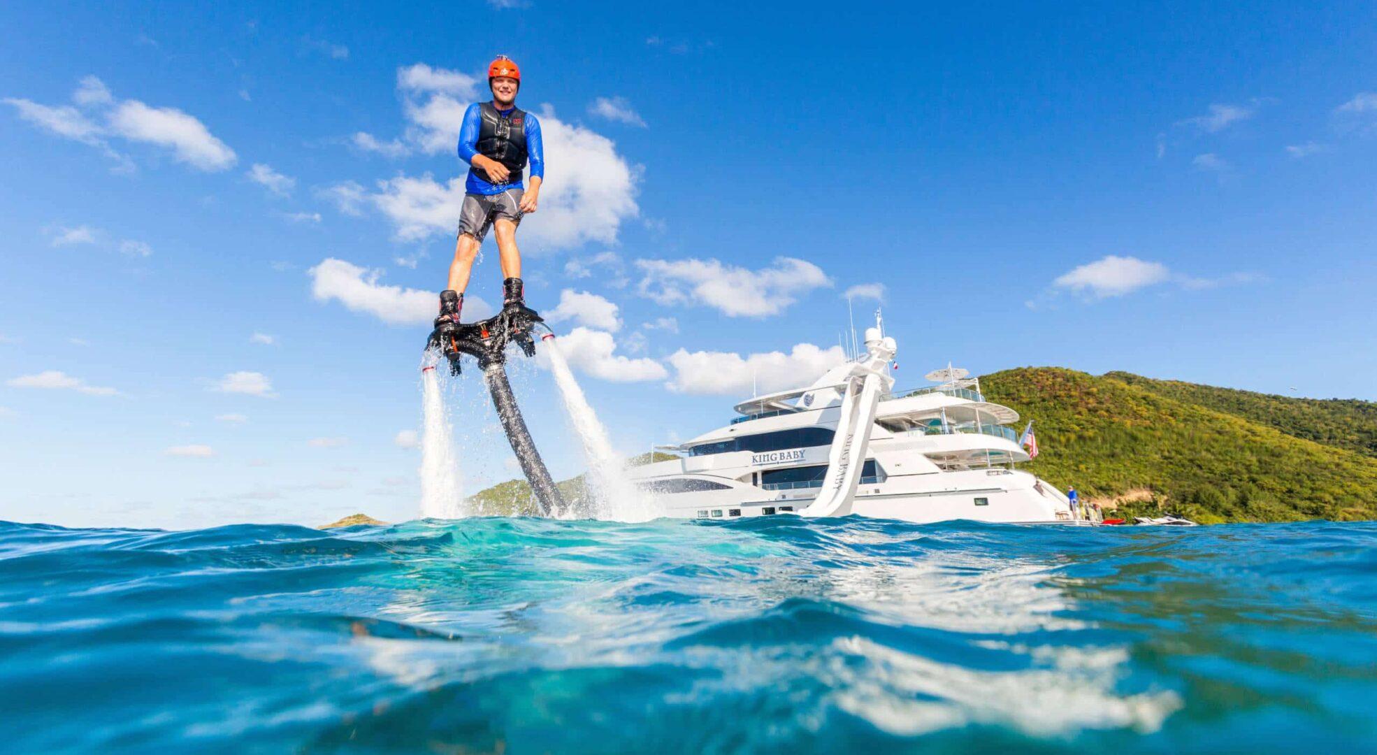 Luxury Charter Yacht KING BABY