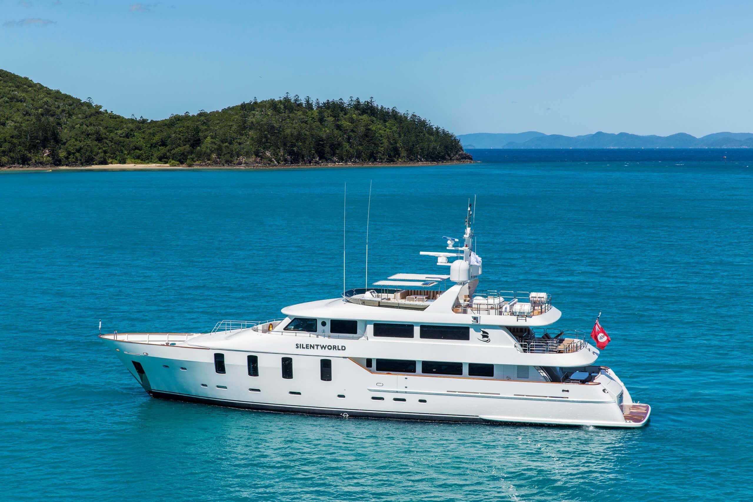 Luxury Charter Yacht SILENTWORLD